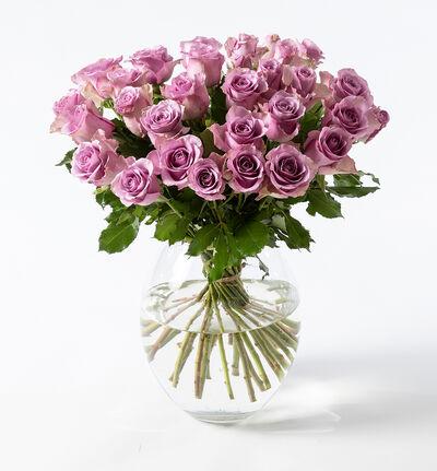30 lilla roser