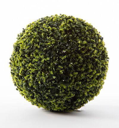 Kunstig buksbom ball grønn M