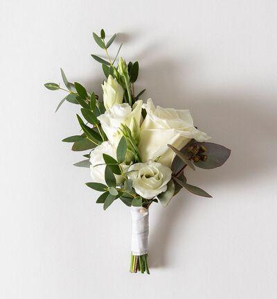 Medium Simplicity bryllupspakke i hvitt