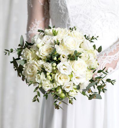 Stor Simplicity bryllupspakke i hvitt