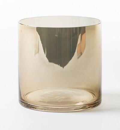 Roma glasspotte gull XS