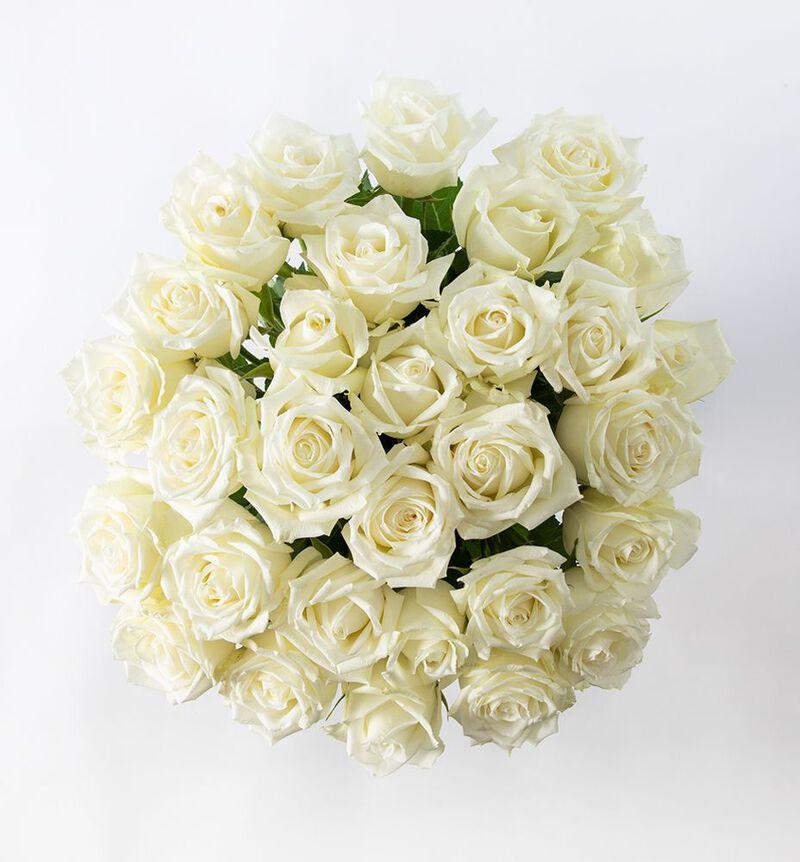 30 hvite roser bildenummer 2