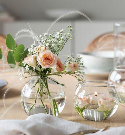 Glassvase Bubble liten