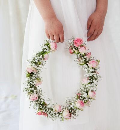 Blomsterring til brudepike