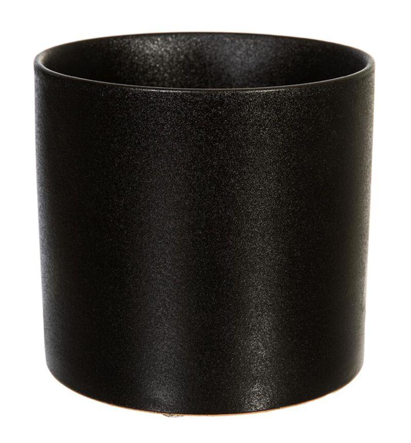 Antrasitt sort blomsterpotte M bildenummer 1