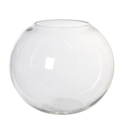 Glassvase Bubble rund M