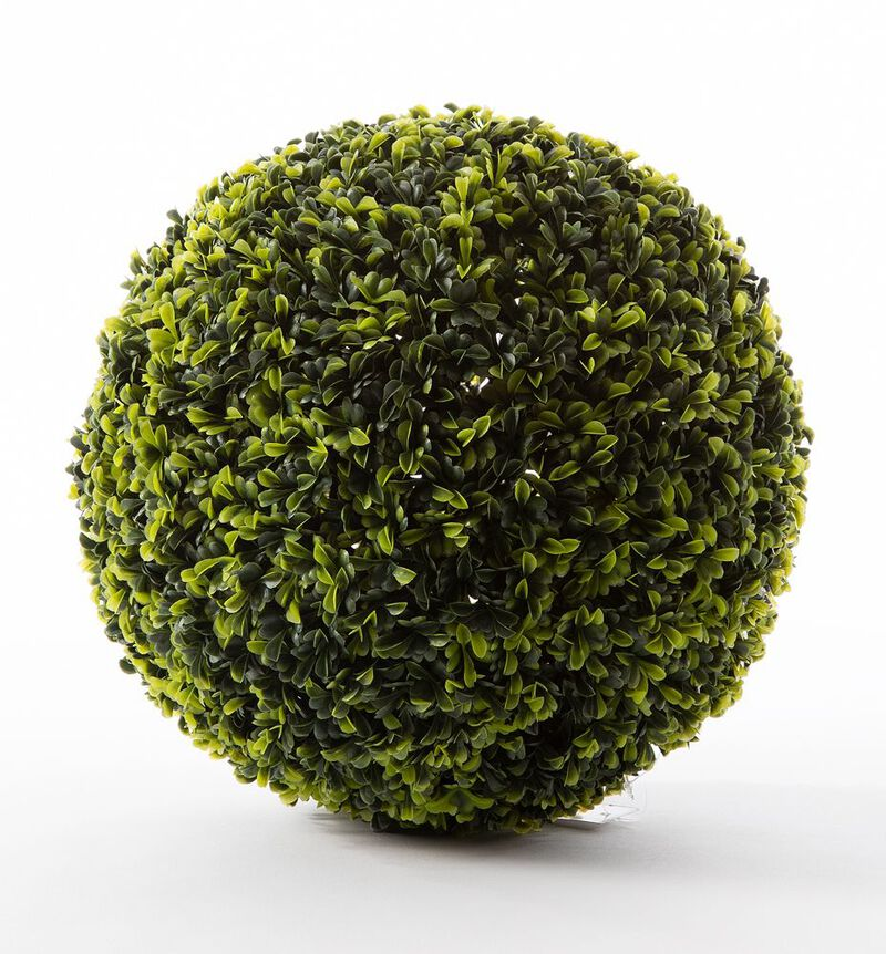 Kunstig buksbom ball grønn M bildenummer 1
