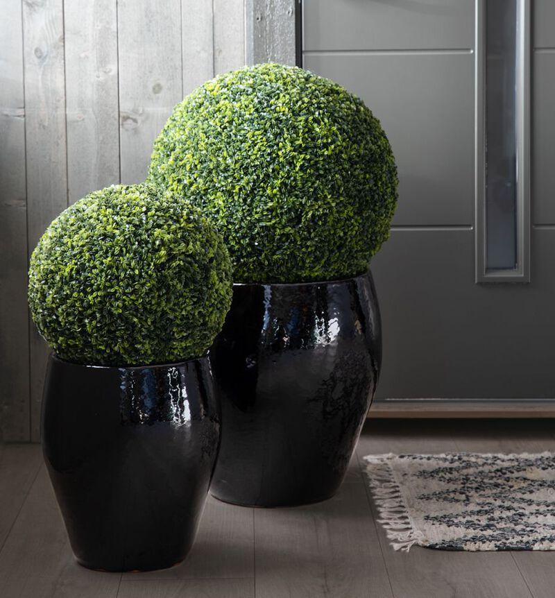 Kunstig buksbom ball grønn M bildenummer 3