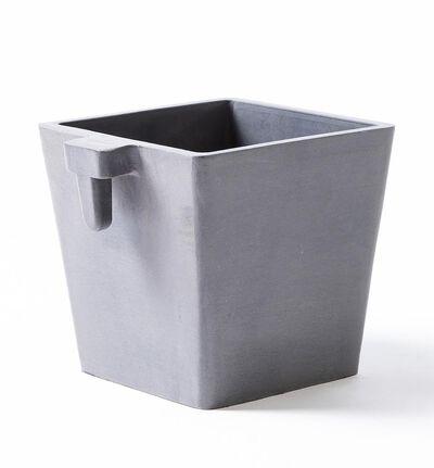 Ecopot veggampel grå S