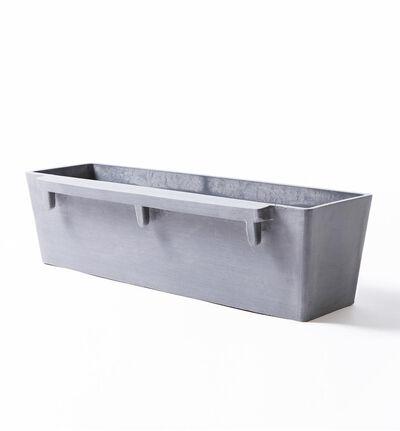 Ecopot veggampel grå L