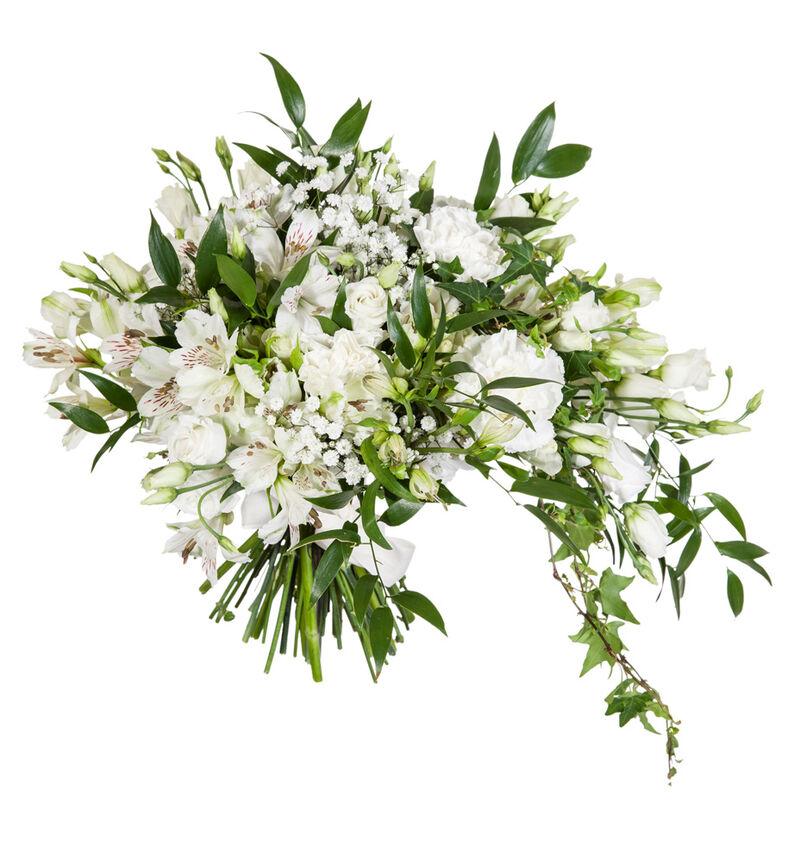 Bohemsk brudebukett i hvitt bildenummer 1