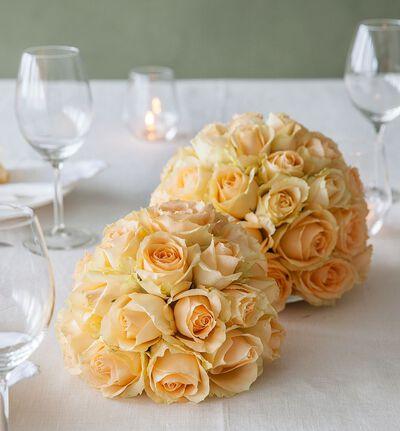 Fersken rosekule stor