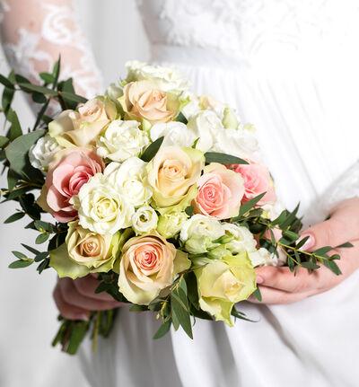Liten Simplicity bryllupspakke i rosa