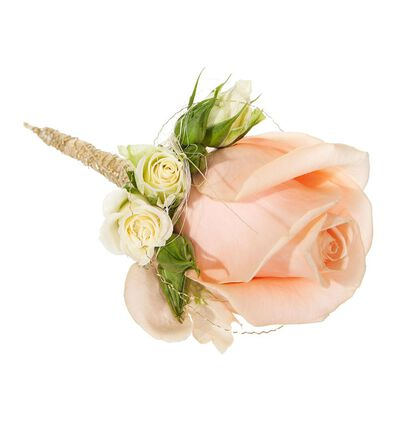 Medium Klassisk bryllupspakke i fersken og rosa