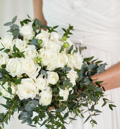 Liten Romantisk bryllupspakke i hvitt
