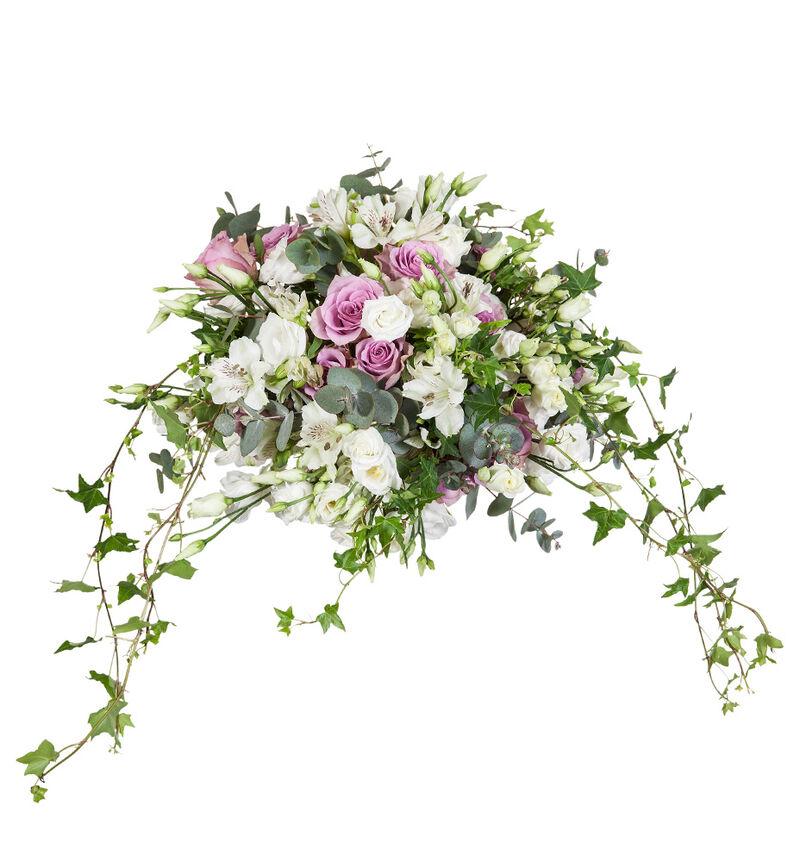 Bohemsk brudebukett i lilla bildenummer 1
