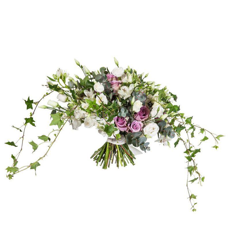Bohemsk brudebukett i lilla bildenummer 2