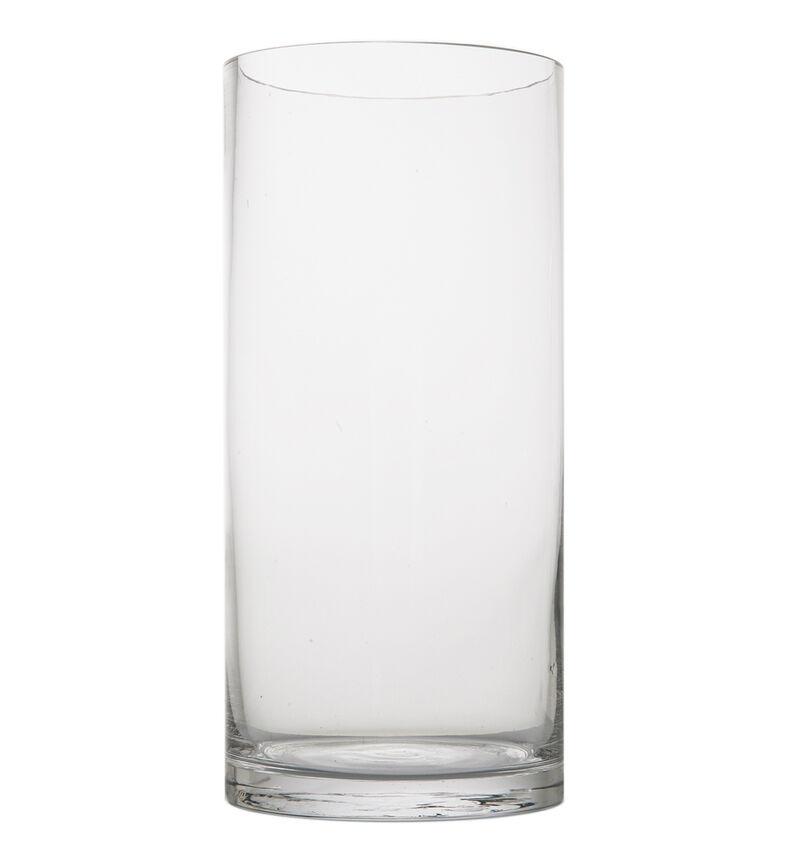Glassvase sylinderformet bildenummer 1