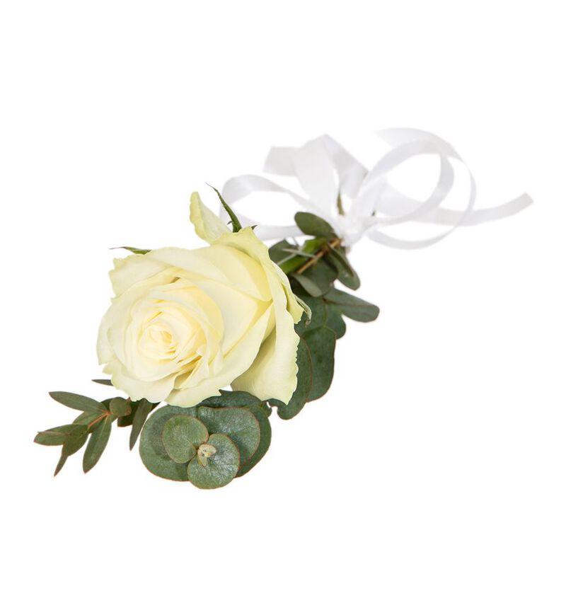 Stor hvit festpakke til avlangt bord bildenummer 4